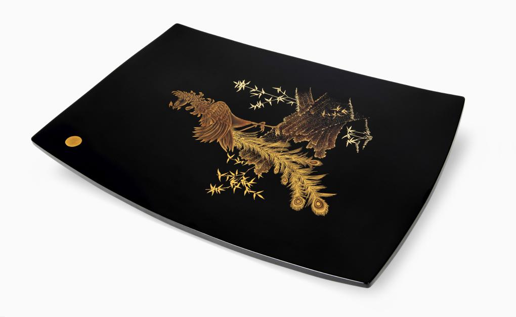 1020-김상수-채화칠-봉황무늬-사각반.jpg
